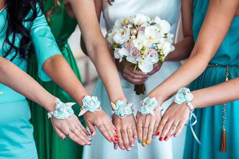 Сделать своими руками браслет подружкам невесты
