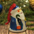"""Сувенир керамика """"Дед Мороз в синем кафтане"""" 5,2х5х7 см"""