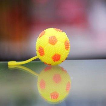 """Мяч на резинке """"Жёлто-красный"""""""