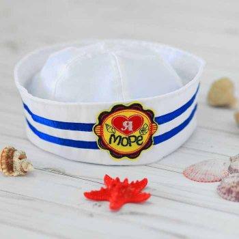 """Шляпа юнга детская """"Я люблю море"""", р-р 52"""