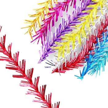 "Мишура ""№ 1 ёлочка"", одинарная d=1,5 см, длина 1.5м микс"