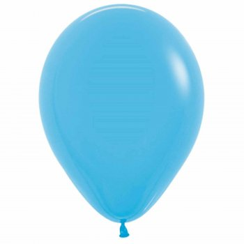 """Шар латексный 9"""", пастель, набор 100 шт., цвет голубой"""