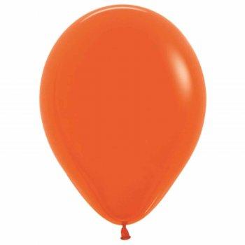 """Шар латексный 9"""", пастель, набор 100 шт., цвет оранжевый"""