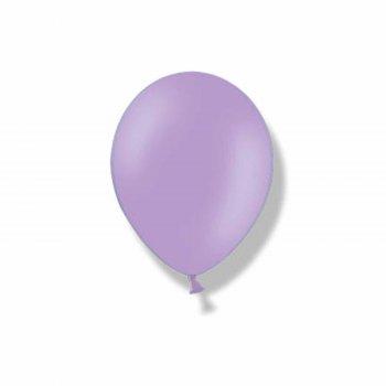 """Шар латексный 9"""", пастель, набор 50 шт., lavender"""